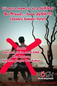 Hindari Pacaran, be a JOSH (JOmblo Sampai Halal)